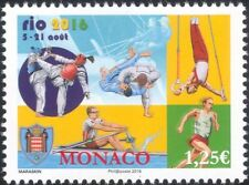 Monaco 2016 Olympic Games/Sports/Olympics/Judo/Taekwondo/Rowing/Sail 1v (mc1004)