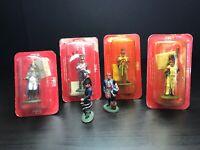 10 Del Prado Figures. Napoleon, Napoleonic Military figures. Artillery, Dragoons
