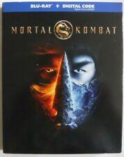 Mortal Kombat (2021, Blu-ray + Digital + Slipcover, New & Sealed)