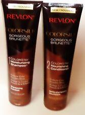 1 Revlon Colorsilk ColorStay Moisturizing Shampoo & Conditioner GORGEOUS BRUNET