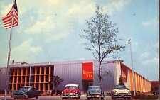 SUFFOLK VA New Lipton Tea Plant 1950s Cars postcard