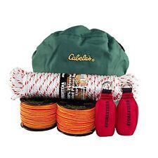 Tree Climbers Throw Line Kit, 2 Lines, 2 Throw Bags, Storage Bag, Pruner Rope