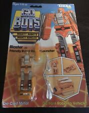 1984 Tonka Gobots BLASTER with Card and Bubble (OPENED). RARE!