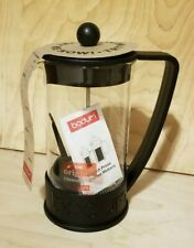 "BODUM ""The Original French Press"" Brazil 8-cup  Black  NEW - No Box"