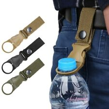 Tactical Gear water bottle holder Belt Clip Camping Hiking Climbing Holder Tools