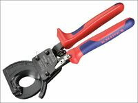 Knipex - Cable Shears Ratchet Action Multi Component Grip 250mm
