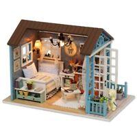 Puppenhaus Moebel DIY Miniatur Staubschutz mit Moebel Holzhaus Spielzeug Gesc OE