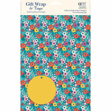 Gift Wrap & Tags - Bohemia (2 Sheets+Tags)