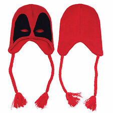 Marvel Comics Deadpool Acrylic Face Mask Beanie One Size New Genuine Licensed