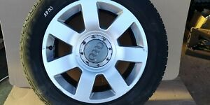 """AUDI A8 2006 17"""" ALLOY WHEEL WITH TYRE 235/55R17 4E0601025S"""