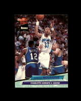 Alonzo Mourning Rookie Card 1992-93 Ultra #234 Charlotte Hornets