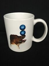 Vintage We Can Do That Coffee Mug Featuring a Dog Balancing Balls on Nose