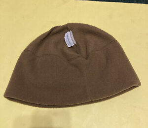 USMC Rothco  Polartec Fleece Cap Beanie Hat Coyote Brown Cold Weather Polyester