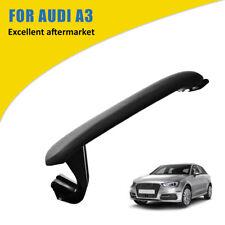 Audi A3 8P 2003-2013 Cuir Centre Console Accoudoir Couvercle CouvertureNoir