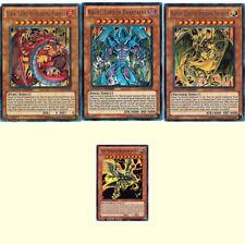 Uria Lord + Hamon + Raviel LC02 Egyptian God Cards + Winged Dragon of Ra JUMP