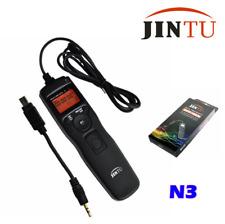 JINTU LCD Timer Remote Intervalometer Shutter For Nikon D7100 D5200 D5100 D3300