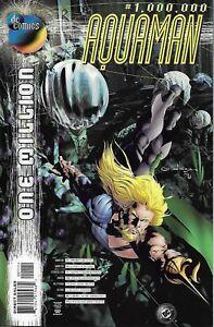 Aquaman Comic One Million Cover A First Print 1998 Dan Abnett Andy Lanning DC