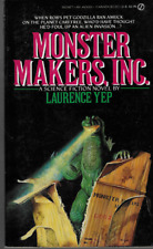 Monster Makers, Inc. by Laurence Yep 1987 PB Signet Godzilla