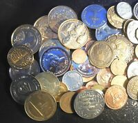 Massive Collection Lot of 73 Tokens and Medals Various Dates & Types with Proofs