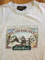 Eddie Bauer Vtg MOUNT RUSHMORE T-Shirt - Med Made in USA *RARE*