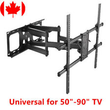 "Super Solid Large Full-Motion TV Wall Mount 50""-90"" LED LCD Curved&Flat Panel TV"