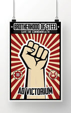 Fallout -- Fallout 4 -- Brotherhood of Steel Poster -- 18x24 Poster