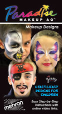 Mehron Parasdise AQ Premium Face Paint Makeup Kit Pirate Princess Monster Clown