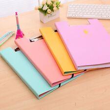 Letter A4 Paper Expanding Office School File Folder Pockets Document Organizer