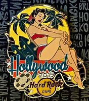 Hard Rock Cafe Hollywood Blvd Pin Summer Pin Up Girl 2019 LE New # 512367