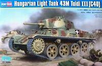 Hobbyboss 1:35 43M Toldi III (C40) Hungarian Light Tank Model Kit