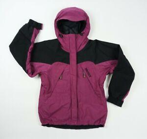 Women's Vintage 90s Marmot Winter Coat Shell Gore-tex MEDIUM  Ski Jacket 1990s