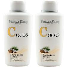 Bettina Barty COCOS Hand & Body Lotion 2 x 500 ml TOP PREIS