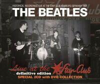 The Beatles Star Club 1962 Hamburg Definitive Edition 2 CD 1 DVD Case Set Music