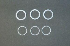 Nylon washers for door handles repairs. Type 1 (19mm) or Type 2 (20.7mm).