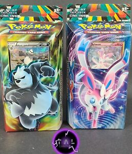 Pokemon XY Furious Fists, Theme Decks, Set of 2, New Factory Sealed, Cracked Ice