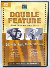 Two ROY ROGERS Movies: Bells of San Angelo + Under the California Stars (DVD)