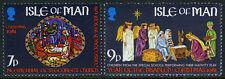 Isle of Man 205-206 MI 200-201, MNH. Christmas. IYD. St. George Church, 1981