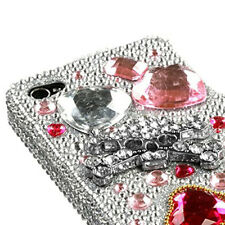 For iPhone 4 4S Crystal Diamond 3D BLING Hard Case Phone Cover Jewelry Box