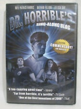 DR. HORRIBLE'S SING-ALONG BLOG DVD- Neal Patrick Harris, Nathan Fillion