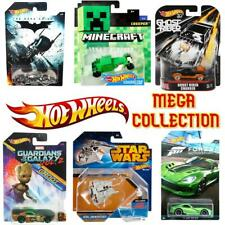 Hot Wheels Cars Mega Collection of 1:64 RARE Vehicles - Choose Your Favourites!