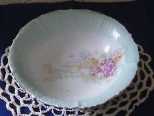 Antique China Bowl Chrysanthemums Gilded Germany Prussia Erdman Schlegelmilch