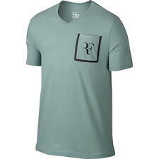 Nike Roger Federer Stealth pocket tee, adult S in cannon colour