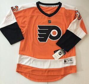 NHL Youth Large XL L/XL Philadelphia Flyers Gostisbehere #53 Replica Jersey NWT