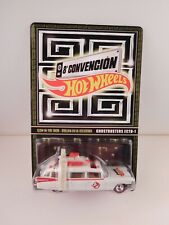 """2021 Hot Wheels 8th Annual Mexico Convention """" Ghostbusters Ecto-1 """" in BP"""