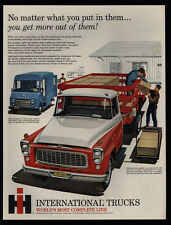 1960 INTERNATIONAL HARVESTER Medium Duty & Metro Mile Delivery Truck- VINTAGE AD