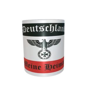 Tasse Deutschland Reichsadler meine Heimat Fahne Flagge Mug Cup Kaffeetasse