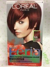 L'OREAL FERIA MULTI-FACETED SHIMMERING #66 Ruby Fusion (Very Rich Auburn) HAIR