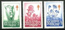 FINLAND - FINLANDIA - 1958 - Pro Tubercolotici. Fiori -