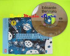 CD Singolo EDOARDO BENNATO Afferrare una stella 1996 EMI PROMO  mc dvd  (S10)
