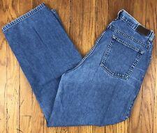 LL Bean Women's Straight Leg Medium Wash Jeans Size 16 M/T Actual W32.5 L30